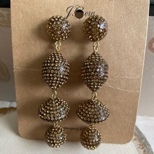 💝 FINAL NWT JCREW XLong Dangle Earrings